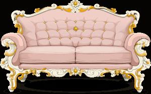 ספה ורודה