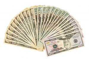 מניפה של דולרים