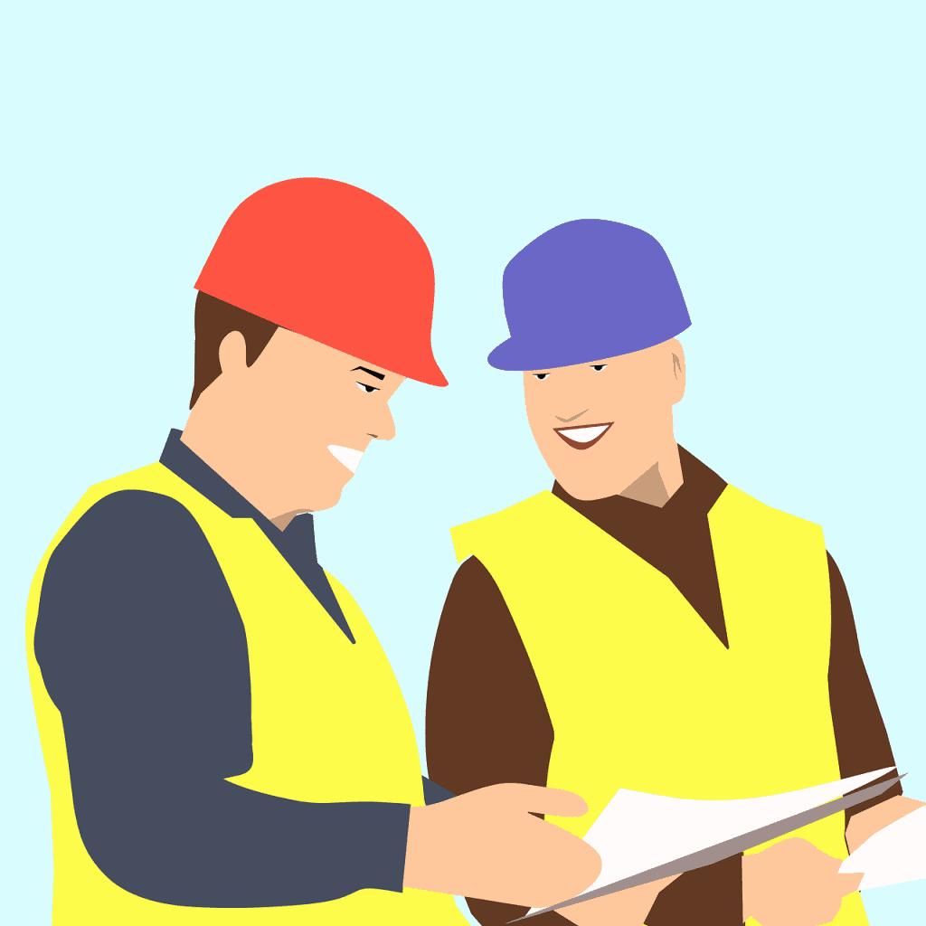 שני אנשי עבודה