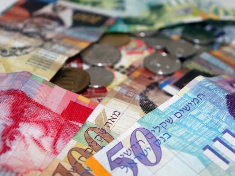 שקל ישראלי ומטבעות