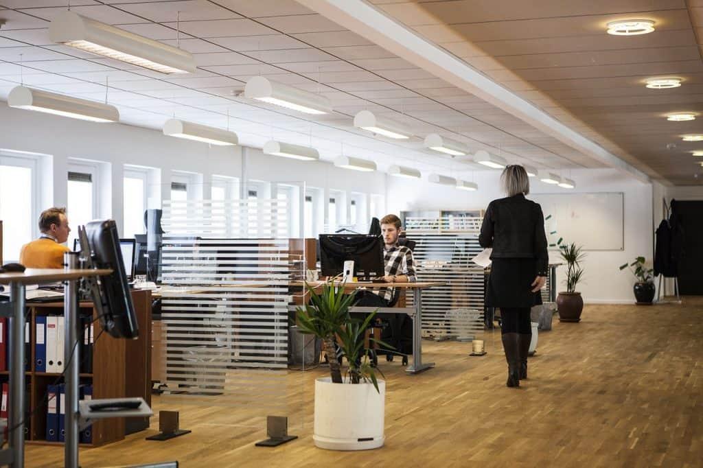 משרד מחולק