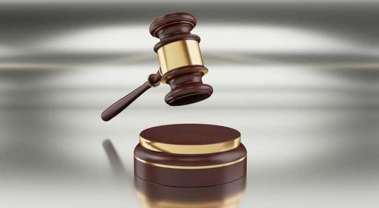 פטיש של שופט